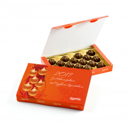 "Коробка конфет Gold NUT 205 г ""Книга """