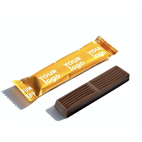 Шоколад с начинкой 12,5 г (Флоу-Пак)