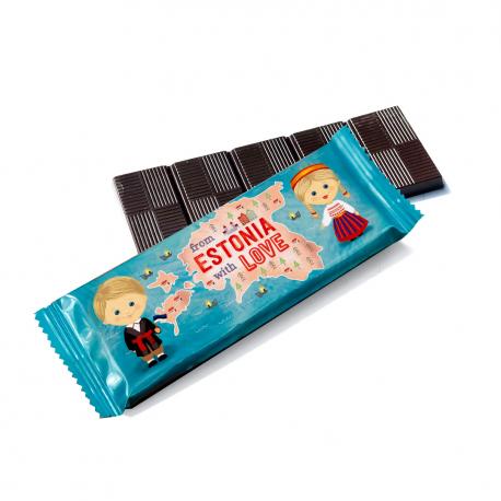 Шоколад с логотипом 25 г (Флоу-Пак)
