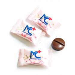 Шоколадная таблетка с логотипом 3,5 г