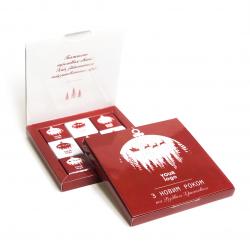 """Шоколадный набор 45 г """"Книга"""""""