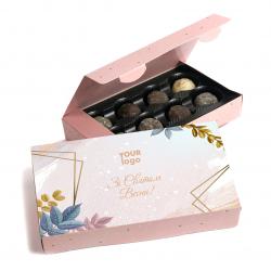 Коробка конфет Трюфель 100 г Книга